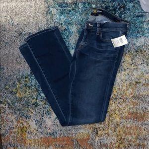 Lucky brand Charlie straight slim jeans 27 NWT